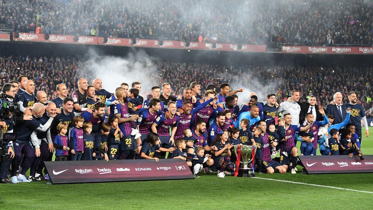 Sesudah Menggelar Liga Spanyol, Barcelona Membidik 2 Trofi Sisa