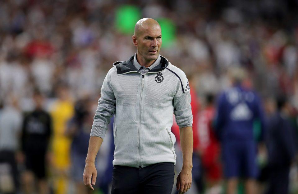 Zidane Menuntut Real Madrid Untuk Lebih Tajam
