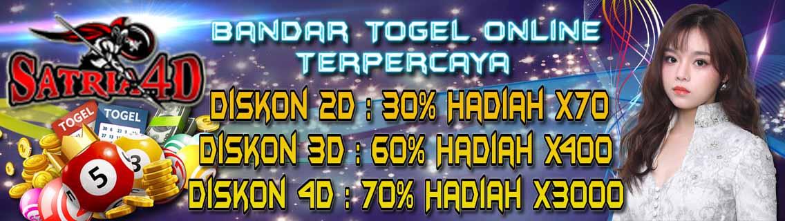 Satria4D - Bandar Togel Hongkong - Bandar Togel Singapore
